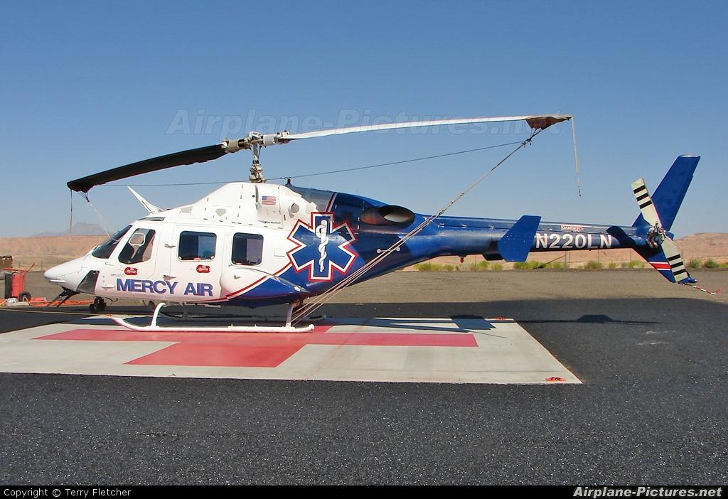 Mercy Air N220LN aircraft at Mesquite