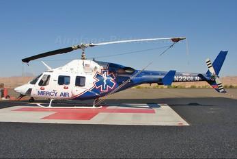 N220LN - Mercy Air Bell 222