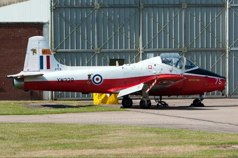 XW328 - Royal Air Force BAC Jet Provost T.5A