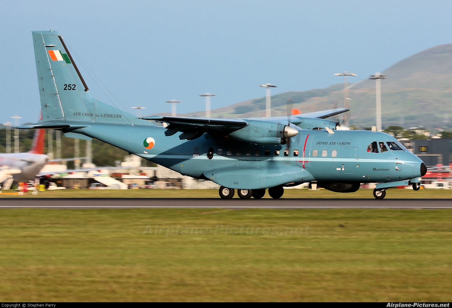 Ireland - Air Corps 252 aircraft at Edinburgh