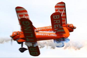N707TJ - Breitling Wingwalkers Boeing Stearman, Kaydet (all models)