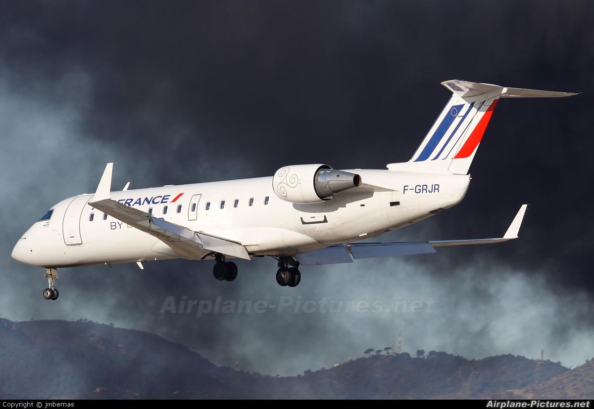 Air France - Brit Air F-GRJR aircraft at Barcelona - El Prat