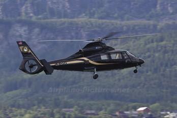 LN-OFA - Helitrans Aerospatiale AS365 Dauphin II