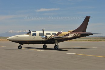 N858CH - Private Piper PA-60 Aerostar / Sequoya