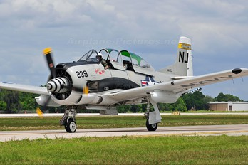 N4168E - Private North American T-28C Trojan