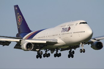 HS-TGZ - Thai Airways Boeing 747-400