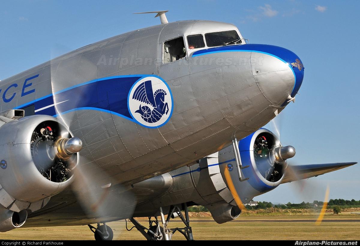 DDA Classic Airlines PH-PBA aircraft at Duxford