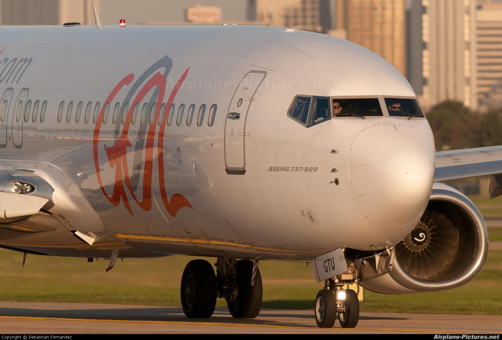 GOL Transportes Aéreos  PR-GTU aircraft at Buenos Aires - Jorge Newbery