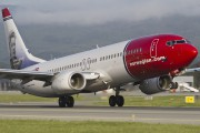 LN-NOH - Norwegian Air Shuttle Boeing 737-800 aircraft