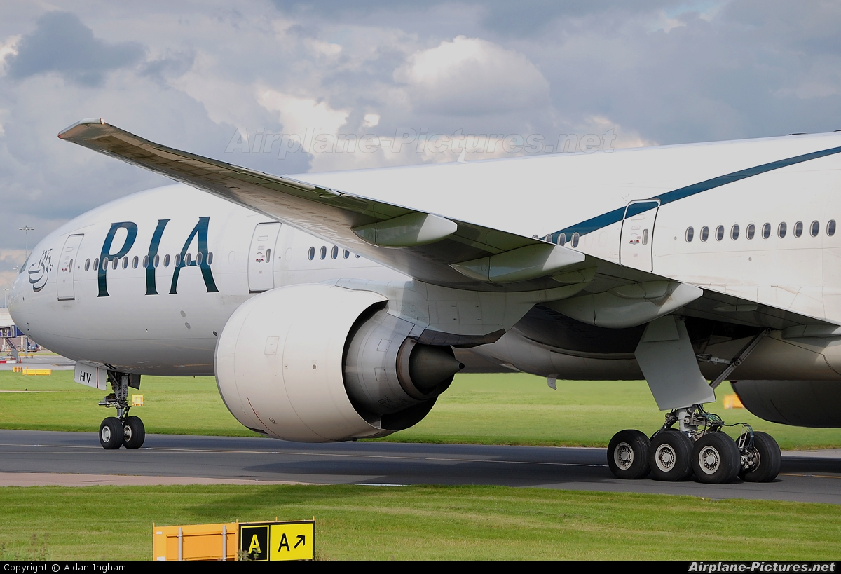 PIA - Pakistan International Airlines AP-BHV aircraft at Manchester