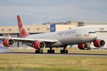G-VRED - Virgin Atlantic Airbus A340-600