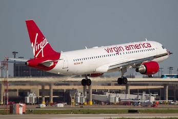 N639VA - Virgin America Airbus A320