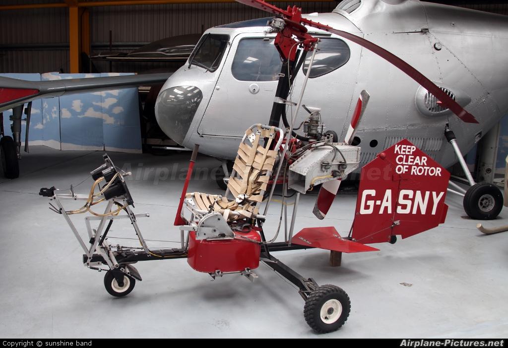 Private G-ASNY aircraft at Newark Air Museum