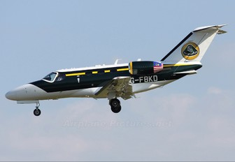 G-FBKD - Team Lotus Cessna 510 Citation Mustang