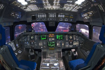 - - Simulator Rockwell Space Shuttle