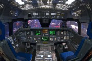- - Simulator Rockwell Space Shuttle aircraft