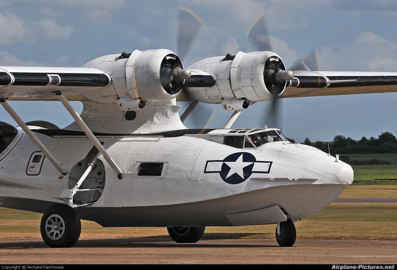 Catalina Aircraft G-PBYA aircraft at Duxford
