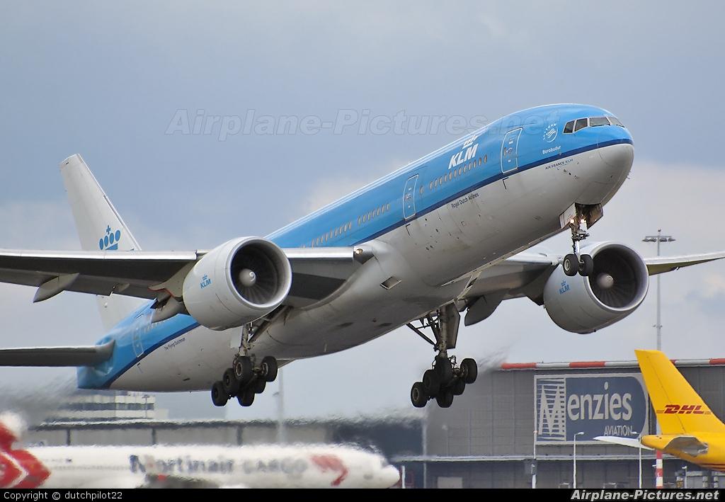KLM PH-BQB aircraft at Amsterdam - Schiphol
