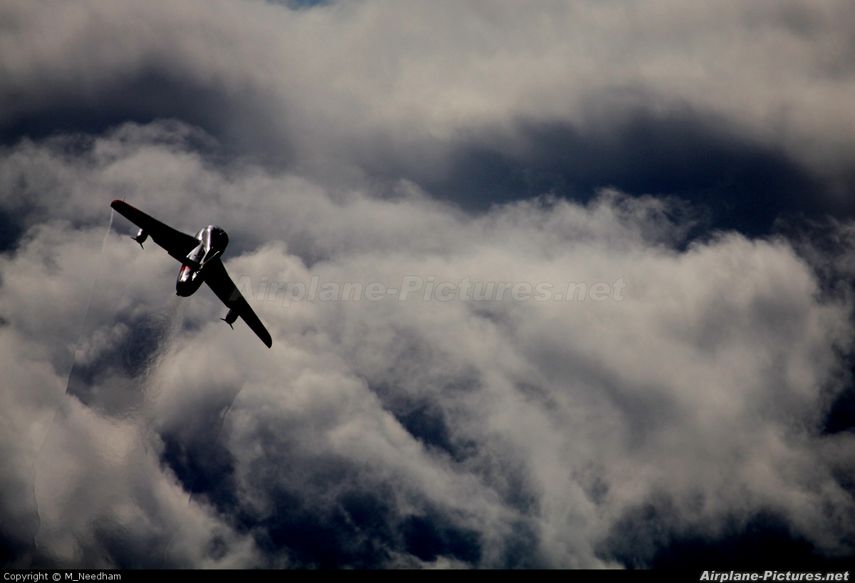 Dutch Hawker Hunter Foundation G-BWGL aircraft at Kemble