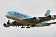 F-WWAZ - Korean Air Airbus A380 aircraft