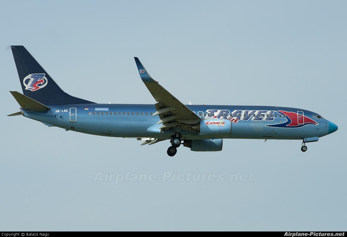 Travel Service HA-LKE aircraft at Budapest - Ferihegy