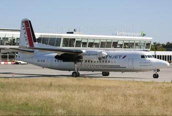 OO-VLM - CityJet Fokker 50