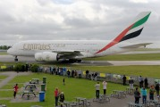A6-EDA - Emirates Airlines Airbus A380 aircraft