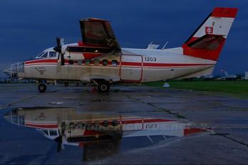 1203 - Slovakia -  Air Force LET L-410FG Turbolet