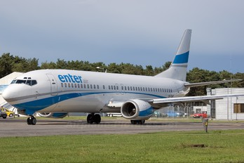 SP-ENF - Enter Air Boeing 737-400