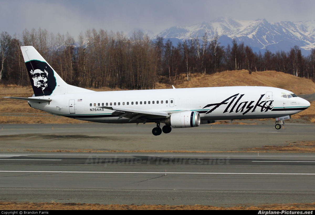 Alaska Airlines N764AS aircraft at Anchorage - Ted Stevens Intl / Kulis Air National Guard Base