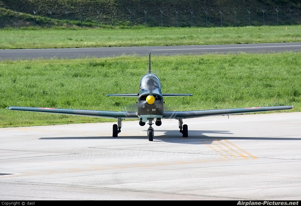 P3 Flyers Ticino HB-RCL aircraft at Trento - Mattarello