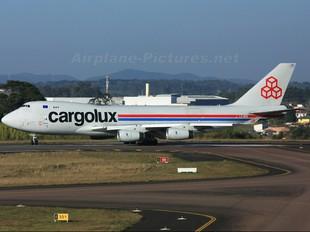 LX-NCV - Cargolux Boeing 747-400F, ERF