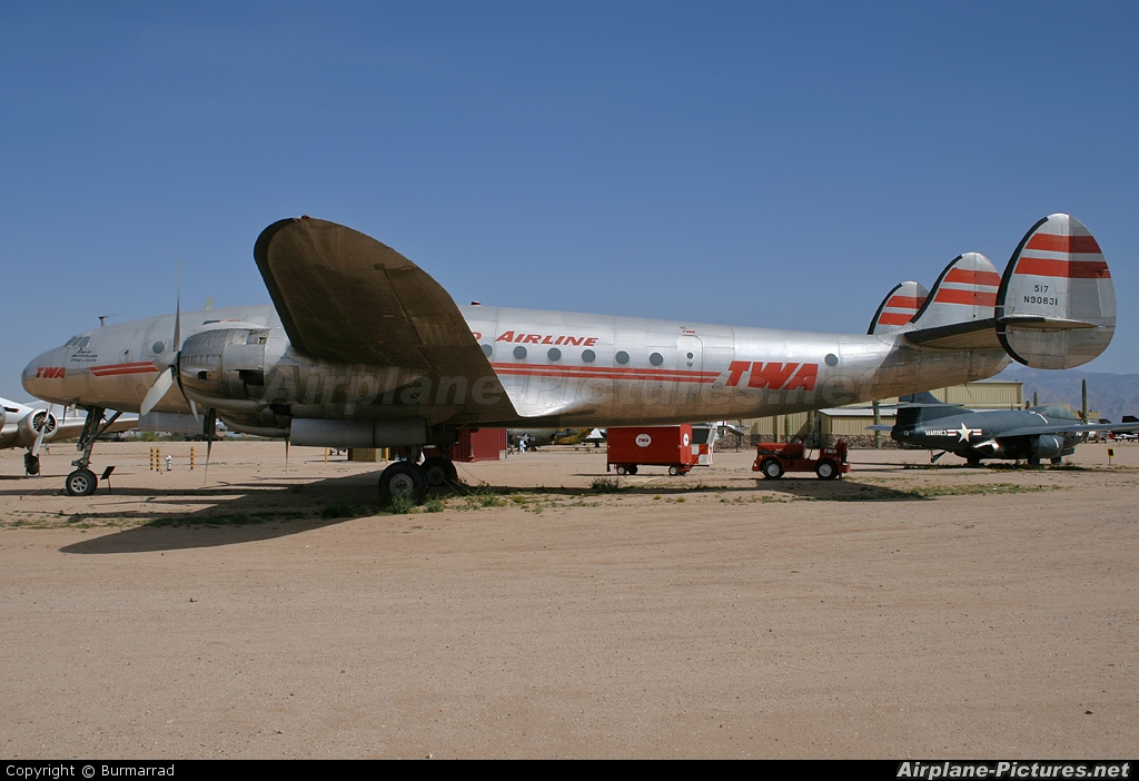 TWA N90831 aircraft at Tucson - Pima Air & Space Museum