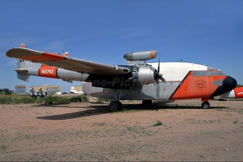 N13743 - Hemet Valley Flying Service  Fairchild C-119 Flying Boxcar