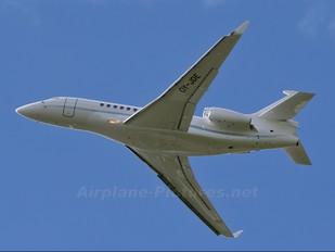 OY-JDE - Air Alsie Dassault Falcon 7X