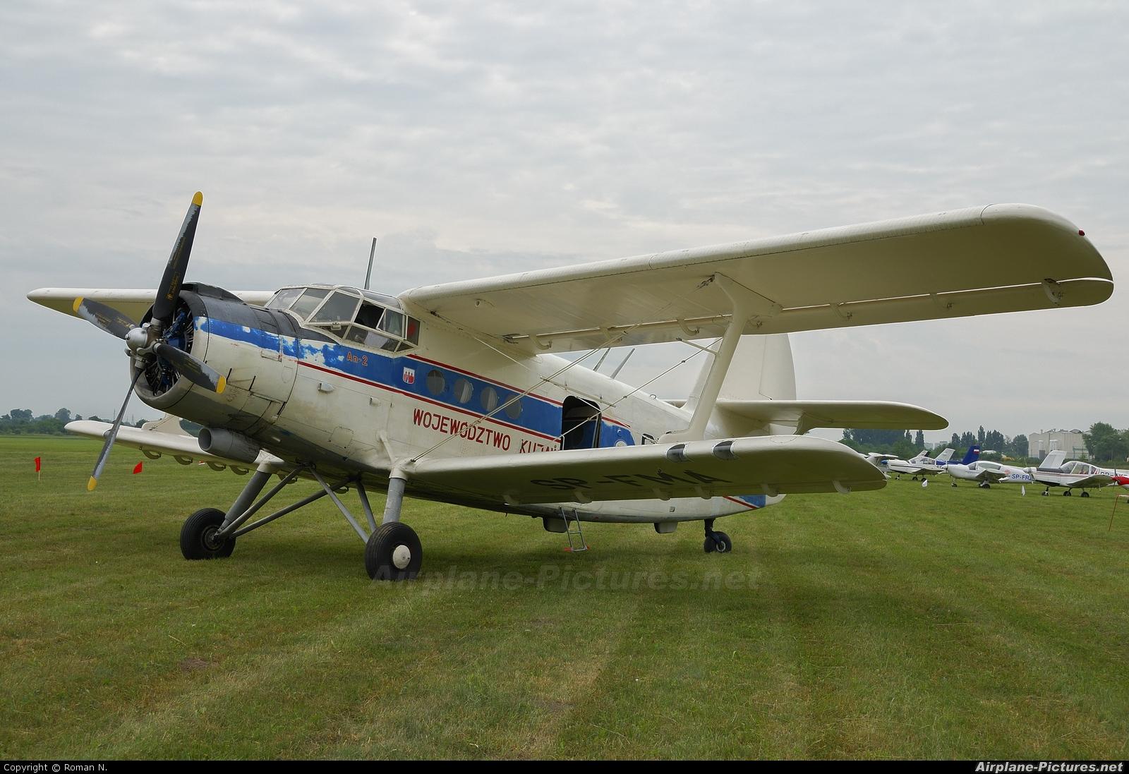 Aeroklub Bydgoski SP-FMA aircraft at Płock