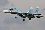 63 - Belarus - Air Force Sukhoi Su-27UBM aircraft