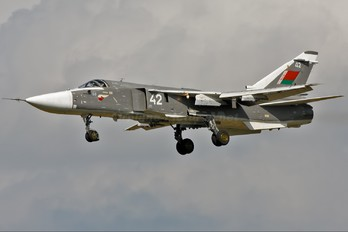 42 - Belarus - Air Force Sukhoi Su-24M