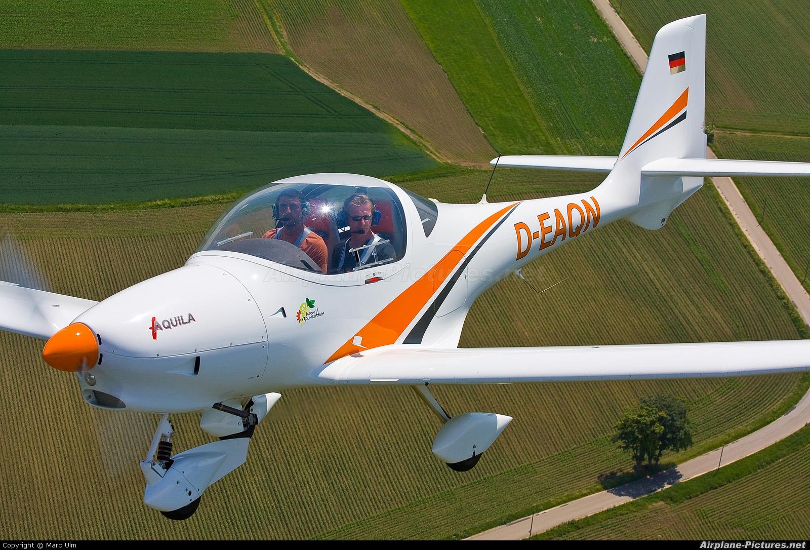 Private D-EAQN aircraft at Donauwörth - Genderkingen