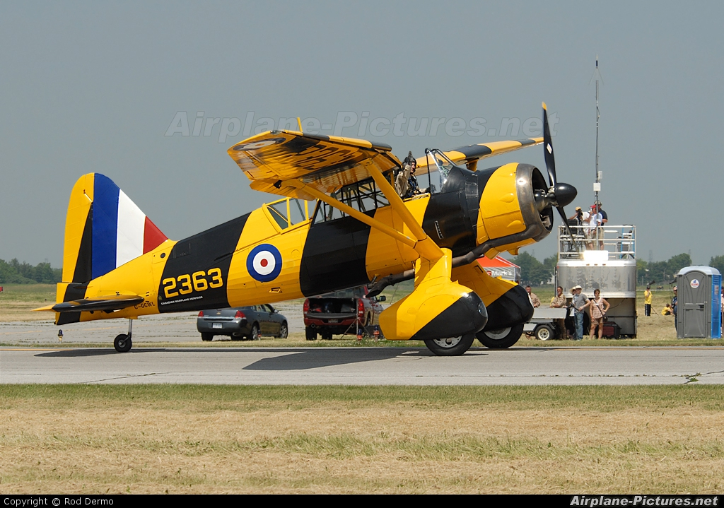 Canadian Warplane Heritage C-GCWL aircraft at Hamilton - John C. Munro, ON
