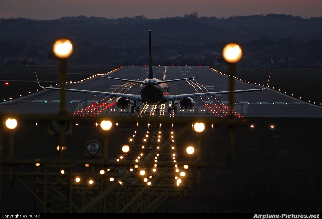 Ryanair EI-DLH aircraft at Kraków - John Paul II Intl