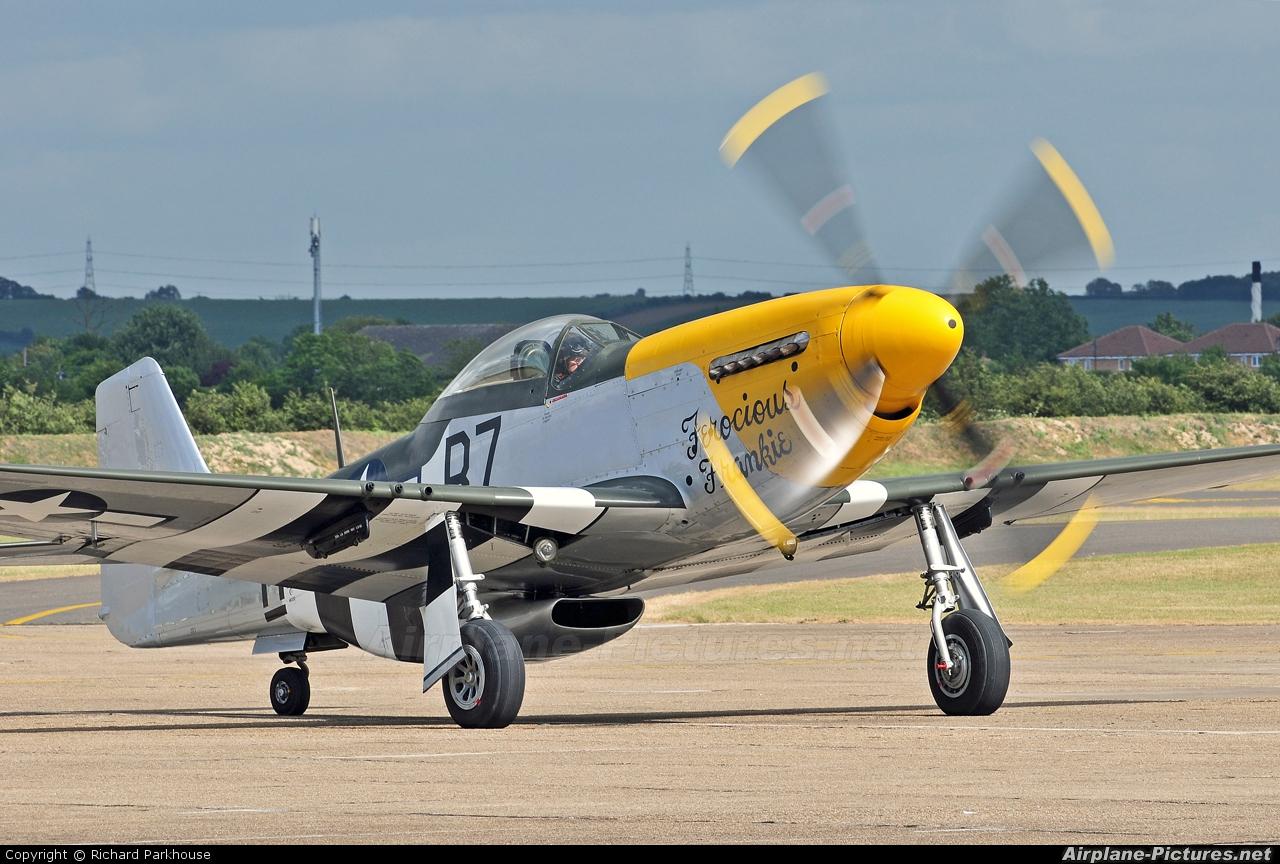 Private G-BTCD aircraft at Duxford