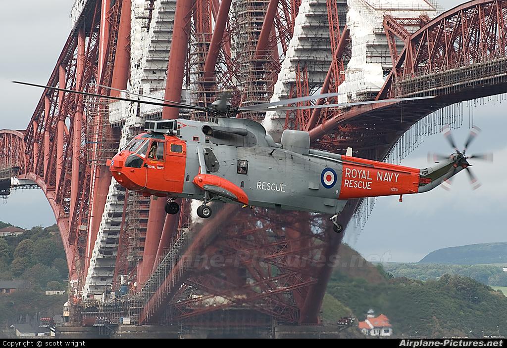 Royal Navy XZ578 aircraft at In Flight - Scotland