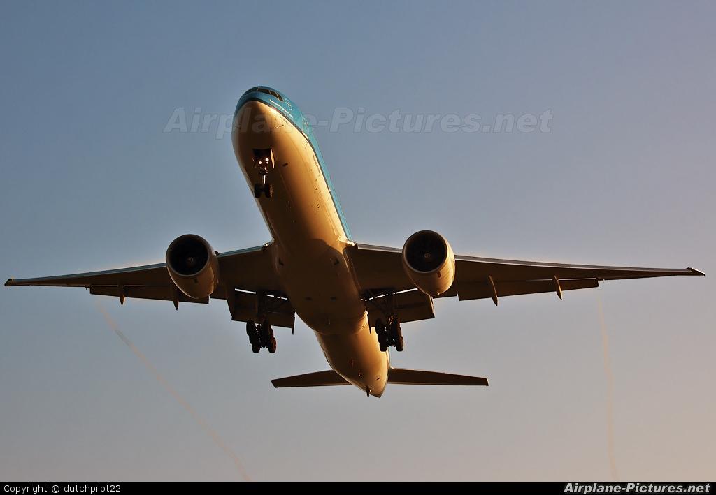 KLM PH-BQN aircraft at Amsterdam - Schiphol