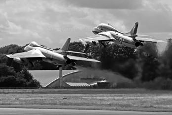 G-BXFI - Delta Jets Hawker Hunter T.7