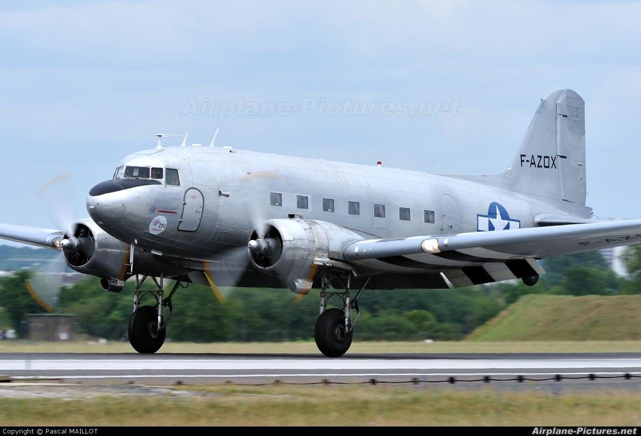 Dakota sur la Normandie F-AZOX aircraft at Saint Dizier - Robinson