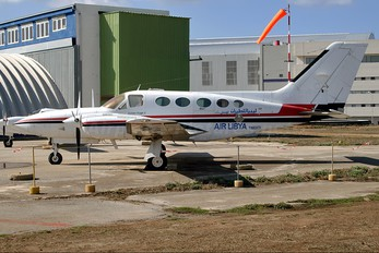 5A-DBM - Air Libya Tibesti Cessna 421 Golden Eagle