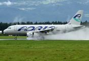 S5-AAP - Adria Airways Airbus A319 aircraft