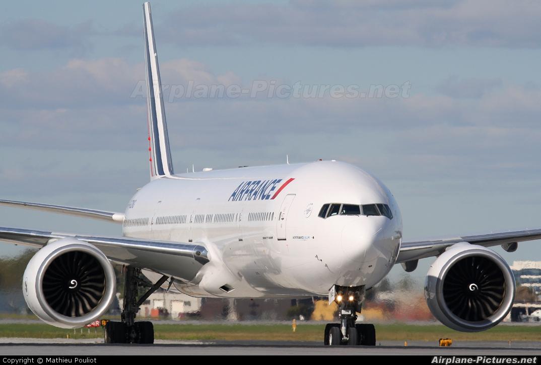 Air France F-GZNG aircraft at Montreal - Pierre Elliott Trudeau Intl, QC