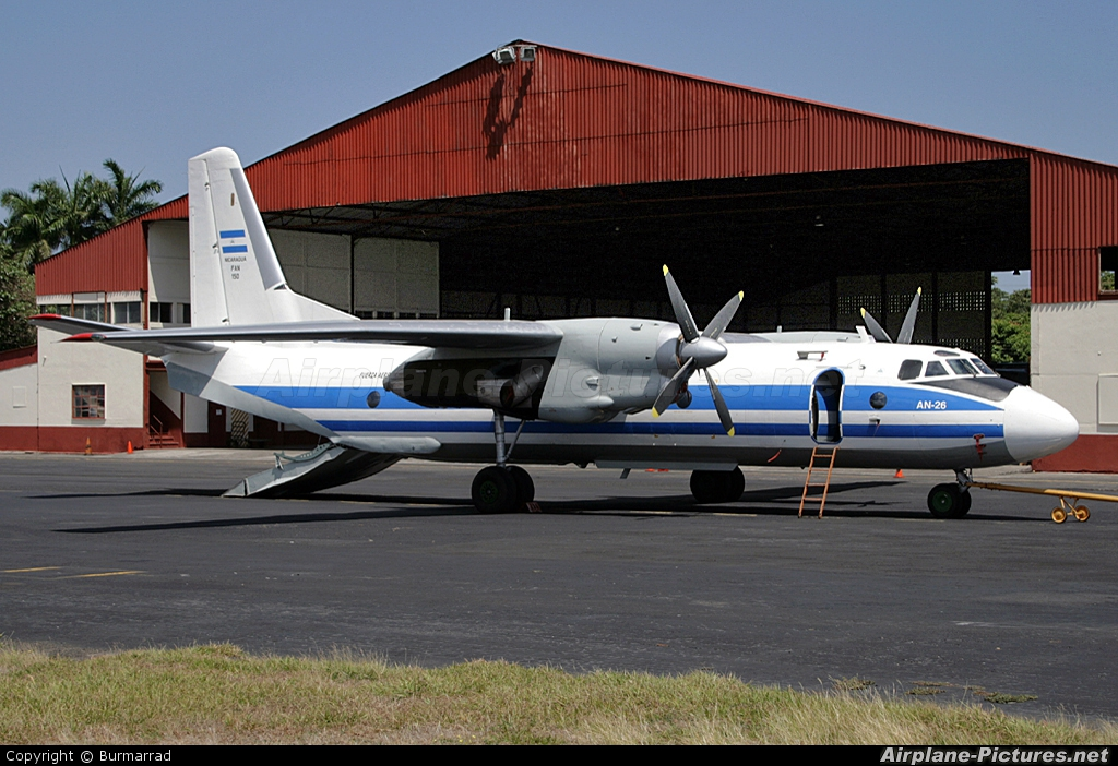 Nicaragua - Air Force FAN150 aircraft at Managua - Augusto C. Sandino Intl